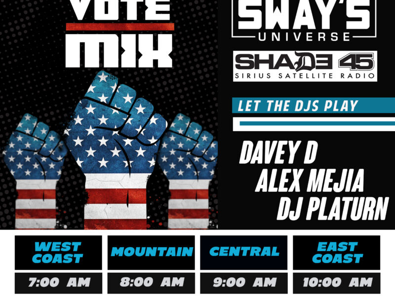 The Vote Mix 2020 Featuring DJ Davey D, Alex Mejia & DJ Platurn