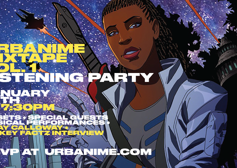 Urbanime Mixtape Listening Party this Monday via Twitch