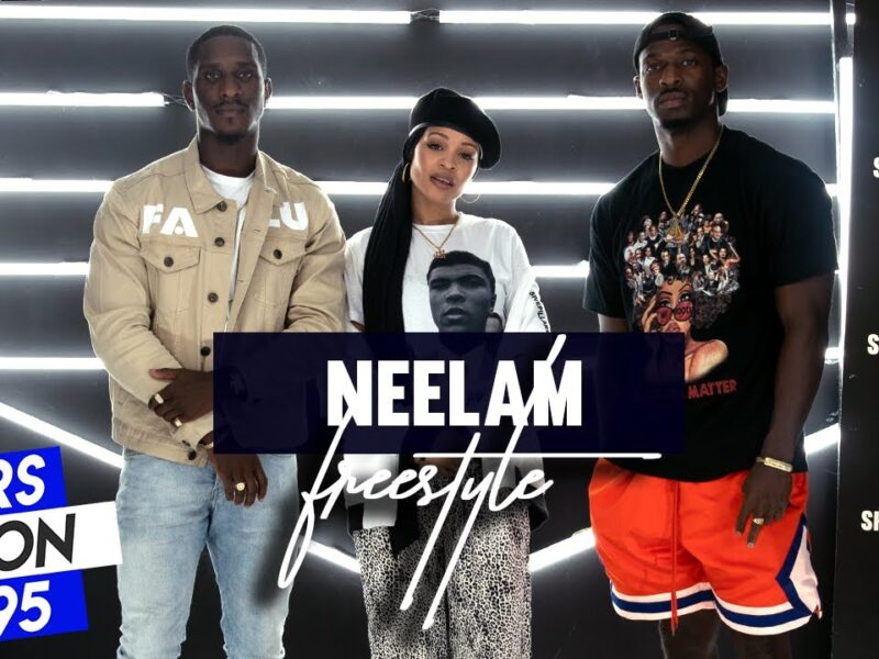 Neelam Holds It Down with Bars On I-95 Freestyle